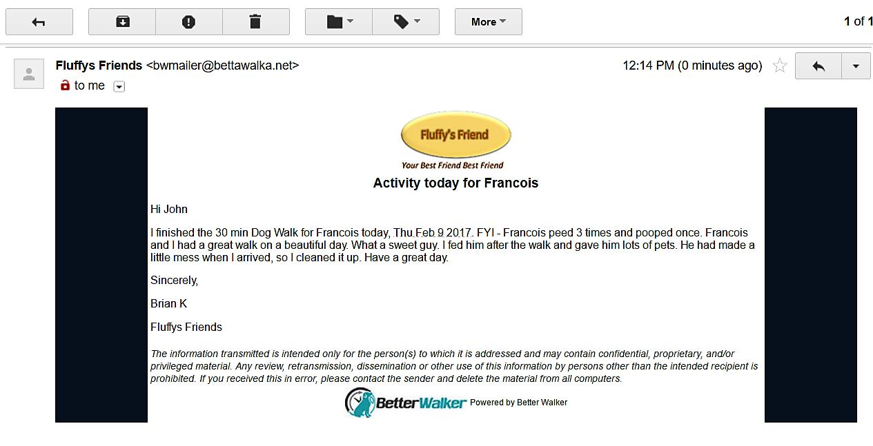 BetterWalker Live service