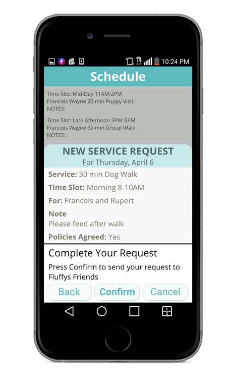 BetterWalker Mobile App